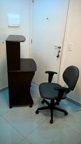 Kit P/ Computador Estante Ditália E Cadeira Ajustável-usado