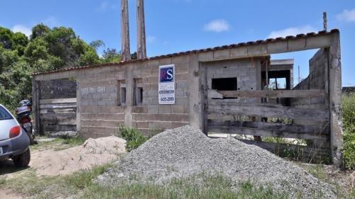Imagem 1 de 14 de Casa No Litoral, Aceita R$100mil De Entrada + Parcelas! 7502