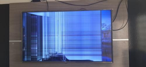 Smart Tv LG 43 Polegadas Com Tela Quebrada