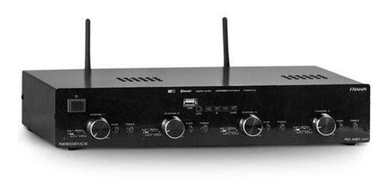 Amplificador Frahm Rd480 Wifi Residence Stereo Bluetooth