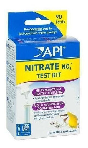 Test Nitrate No3  Api  90 Test Para Acuarios Y Estanques