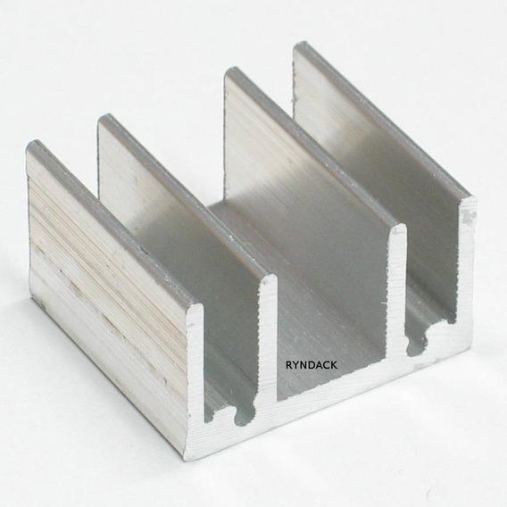 10 Peças * Dissipador De Alumínio Fnt002 25mm Para To220