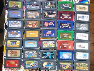 Set De Juegos De Game Boy Y Game Boy Advance