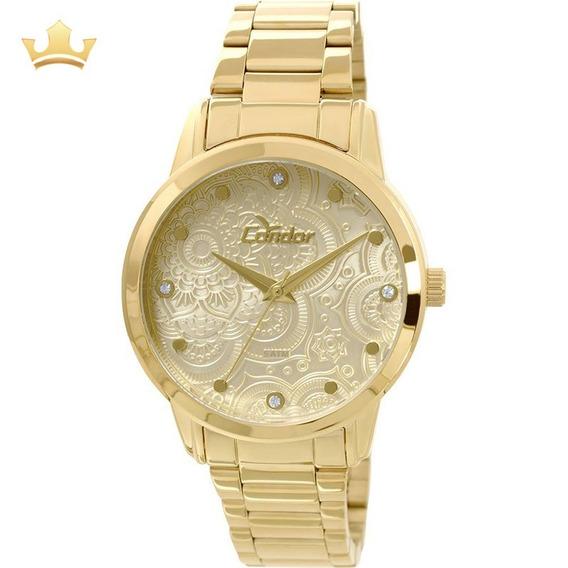Relógio Condor Feminino Co2036cl/4x Com Nf