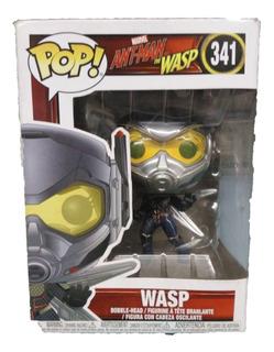 Funko Pop Nº341 Marvel Wasp Original Muñeco Funkopop