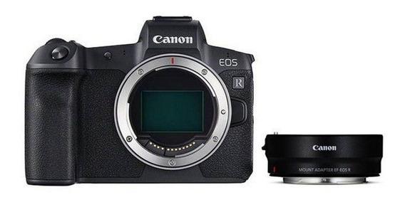 Câmera Canon Eos Rp - Corpo + Adap. Ef-eos R - Loja Platinum