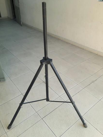 Suporte Caixa Pedestal Tripé 1,80m