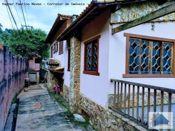 Casa Para Venda Em Areal, Centro, 4 Dormitórios, 3 Suítes, 4 Banheiros - Cs-1130