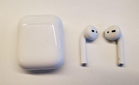 Fone De Ouvido Apple AirPods - Com Capinha Grátis