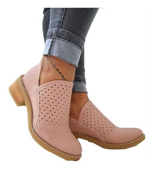 Texanas Botas Charritos Zapatos Mujer Botitas