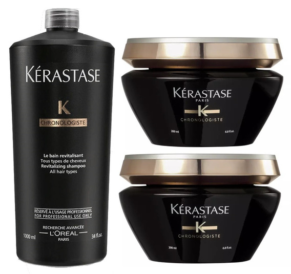 Kerastase Chronologiste Bain 1000ml + Mascara 400ml