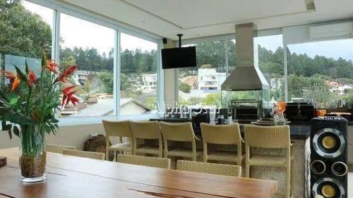 Imagem 1 de 17 de Casa Com 5 Dormitórios À Venda, 740 M² Por R$ 8.500.000,00 - Alphaville 10 - Santana De Parnaíba/sp - Ca3104