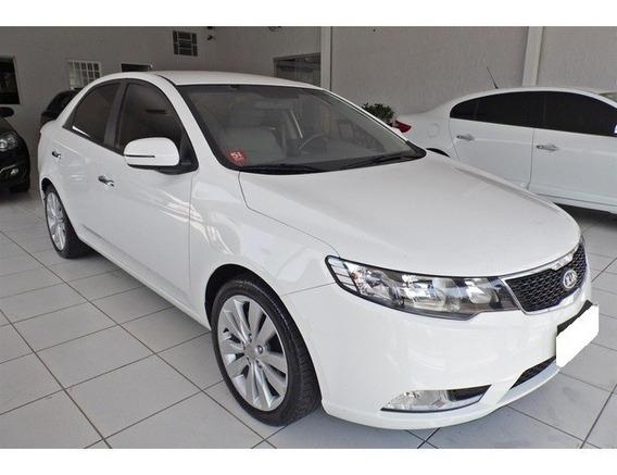 Kia Cerato 1.6 Sx Branco 16v Gasolina 4p Automático 2013