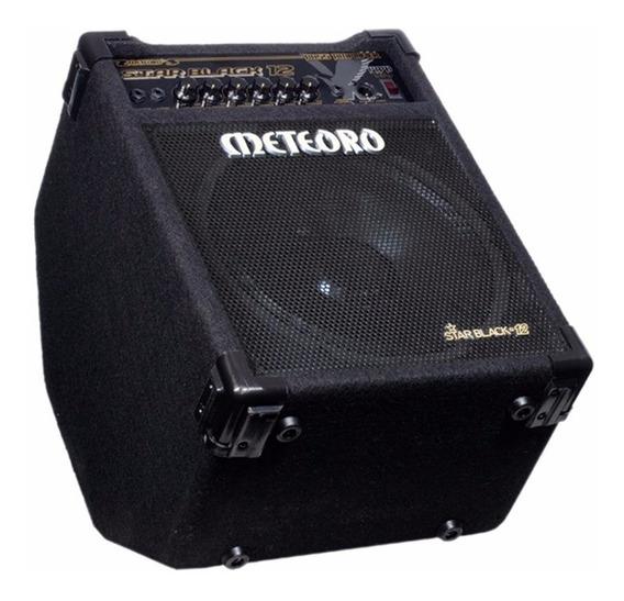 Cubo Amplificador De Baixo Meteoro Star Black 12 12 Polegada