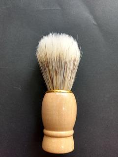 Brocha Para Afeitar De Madera 9.5 Cm De Largo