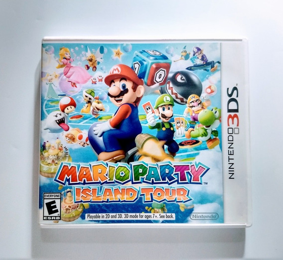 Mario Party Island Tour 3ds - Impecável Americano !!!