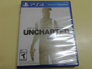 Uncharted Collection Juego Fisico Sellado Para Ps4