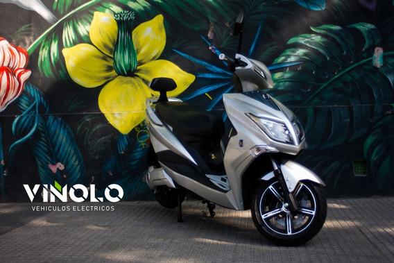 Moto Electrica Sunra Hawk Litio Extraible 50km Viñolo / E