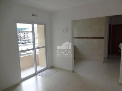 Muito Barato! Apartamento Com 1 Dormitório À Venda, 40 M² Por R$ 180.000 - Canto Do Forte - Praia Grande/sp - Ap2132