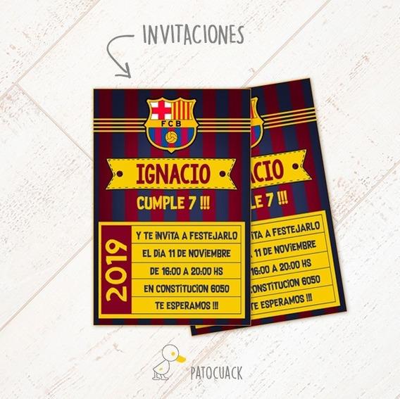 Barcelona Kit + Props De Regalo -textos Editables