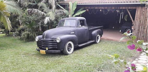 Chevrolet 1951 3100 Boca De Sapo Cabine De Luxo 5 Janelas