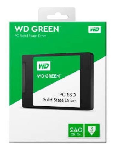 Imagen 1 de 3 de Wd Disco Ssd  Digital Green 240gb 2.5 Int Sata