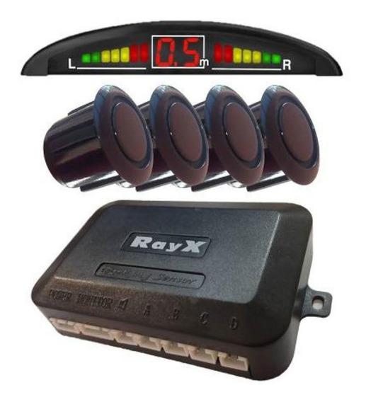Sensor De Re Estacionamento Rayx Preto