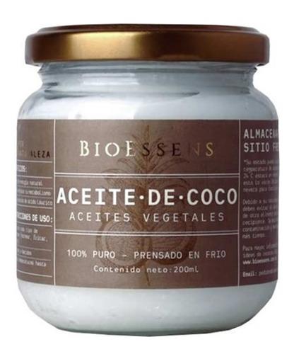 Aceite De Coco Natural 100% Puro (colombiano) 200ml
