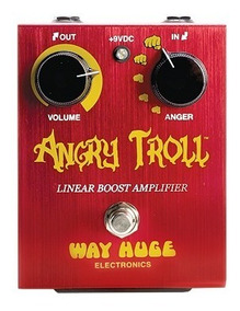 Pedal De Efeito Boost Angrytroll Way Huge Electronics Whe101