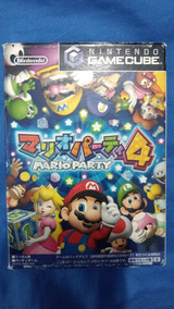 Mario Party 4 - Jogo Nintendo Gamecube (original)
