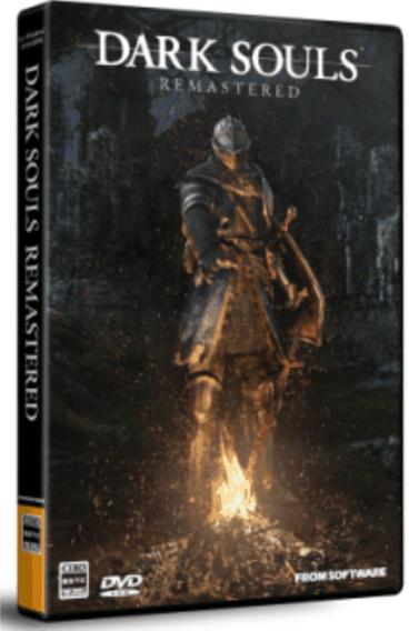 Dark Souls Remastered Remasterizado Pc Dvd - Frete 8 Reais