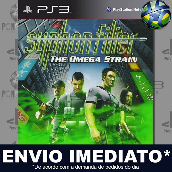Syphon Filter The Omega Strain Ps3 Psn Jogo Promoção Play 3