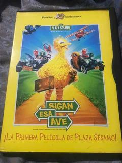 Dvd Sigan A Esa Ave Plaza Sesamo Pelicula Movie Sesame Stree