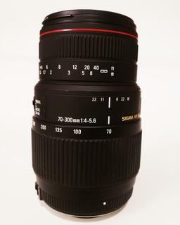 Lente Sigma 70-300mm Apo Dc Macro Para Nikon