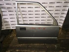 Porta Dianteira Ld  Mitsubishi L200 99-06 Quadrada