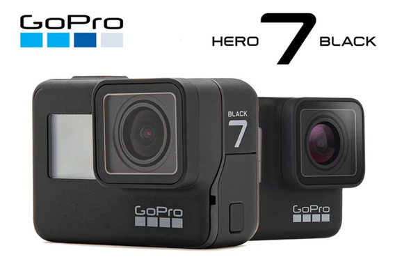 Gopro Hero 7 Black Preto Câmera Ação 4k 12mp 60fps 1080p