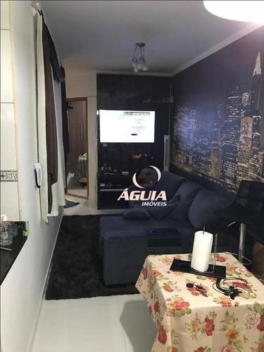 Cobertura Com 2 Dormitórios À Venda, 50 M² Por R$ 305.000,00 - Jardim Das Maravilhas - Santo André/sp - Co0767