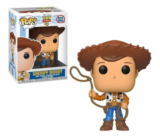 Funko Pop Sheriff Woody 522 Toy Story 4 - Minijuegos