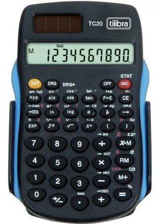 Calculadora Científica 56 Funções Tc20 Preta