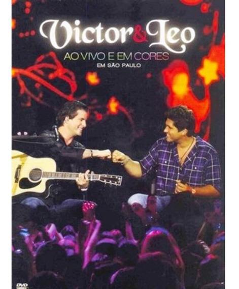 Victor E Léo Ao Vivo Em Cores Dvd Multisom