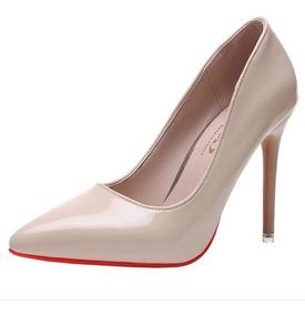 Sapato Scarpin Importado Luxo Salto 10cm Pronta Entrega