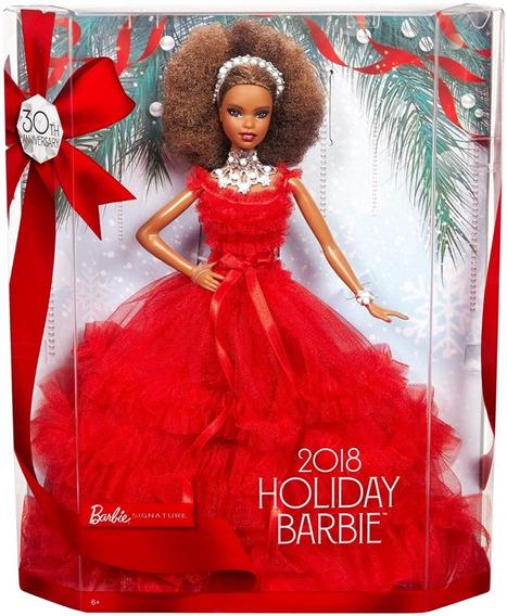 Boneca Barbie Collector Holiday 2018 - Última No Estoque