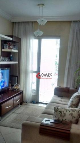 Apartamento Com 2 Dormitórios À Venda, 50 M² Por R$ 230.000,00 - Vila Planalto - São Bernardo Do Campo/sp - Ap2619