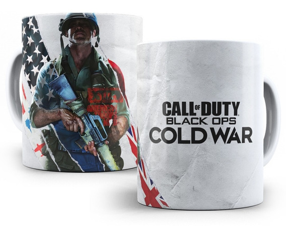 Caneca Cod Black Ops Cold War