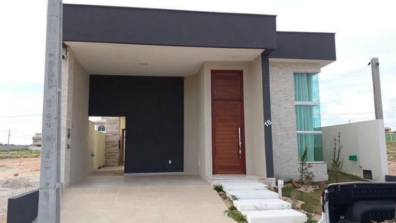 Linda Casa 3/4 C/suíte-300m²-projetados-porcelanato