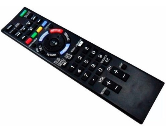 Controle Remoto Tv Sony Bravia Lcd Led Netflix Rm-yd078 7009