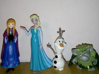 Lote De Figuras Frozen!