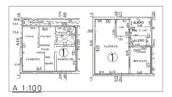 Venta Ph 4 Ambientes, A Refaccionar, Excelente Distribución, En Villa Urquiza