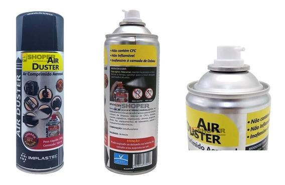 Ar Comprimido Aerosol Air Duster Limpeza Pc Bga Tufao Spray
