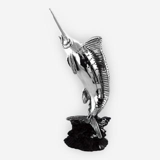 Escultura De Pez Espada .999 (electroformado)
